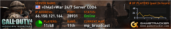 Call of Duty 4 Server