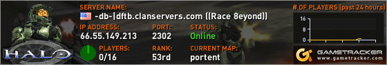 Visit GameTracker.com for the latest game server information!