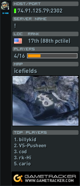 GameTracker data for þoqclan.com CE12: Chilly Icefields